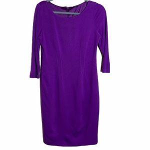 Elie tahari purple dress